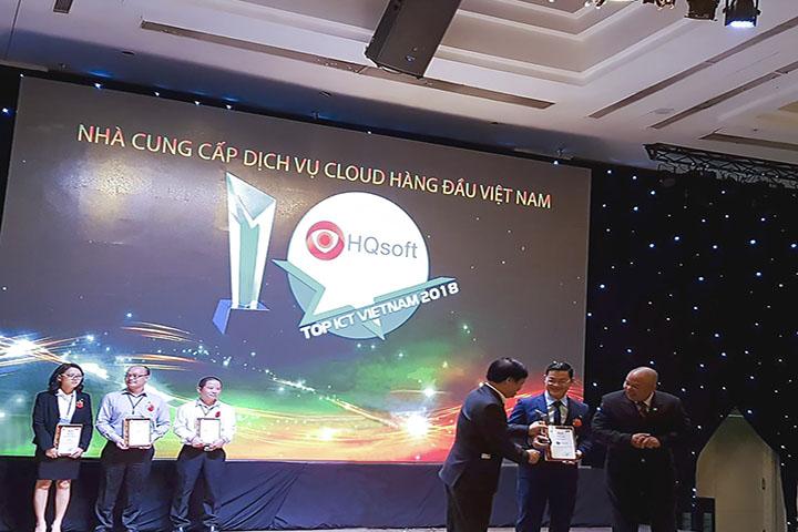 Giải Thưởng Top ICT của HQsoft