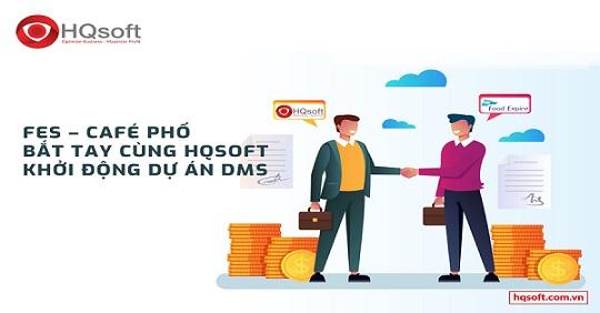 HQsoft đã được Ban Giám Đốc FES tin tưởng và bắt tay triển khai dự án DMS quản lý hệ thống phân phối cho hơn hàng trăm nhân viên trên toàn quốc.