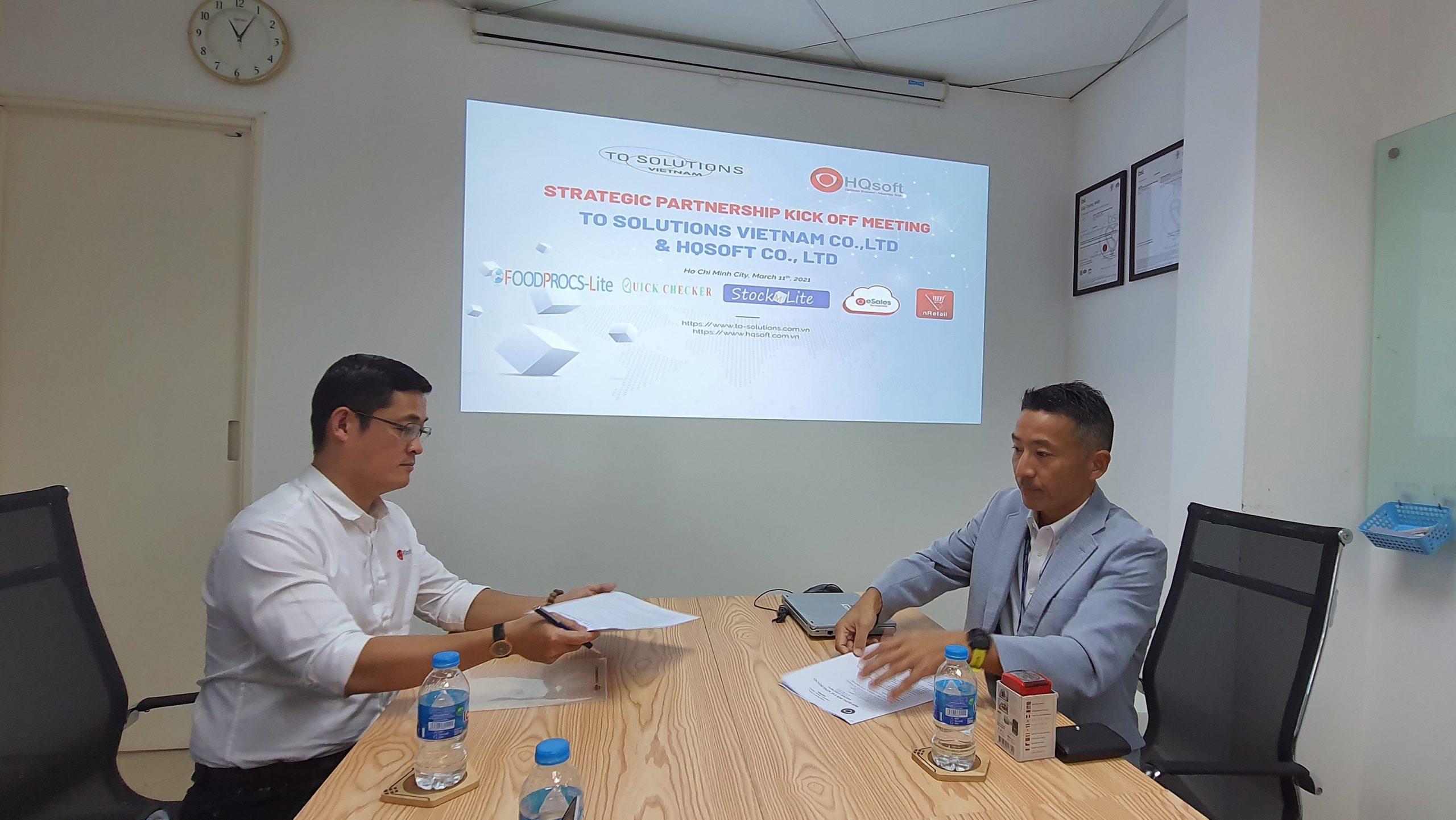 Strategic Partnership kickoff