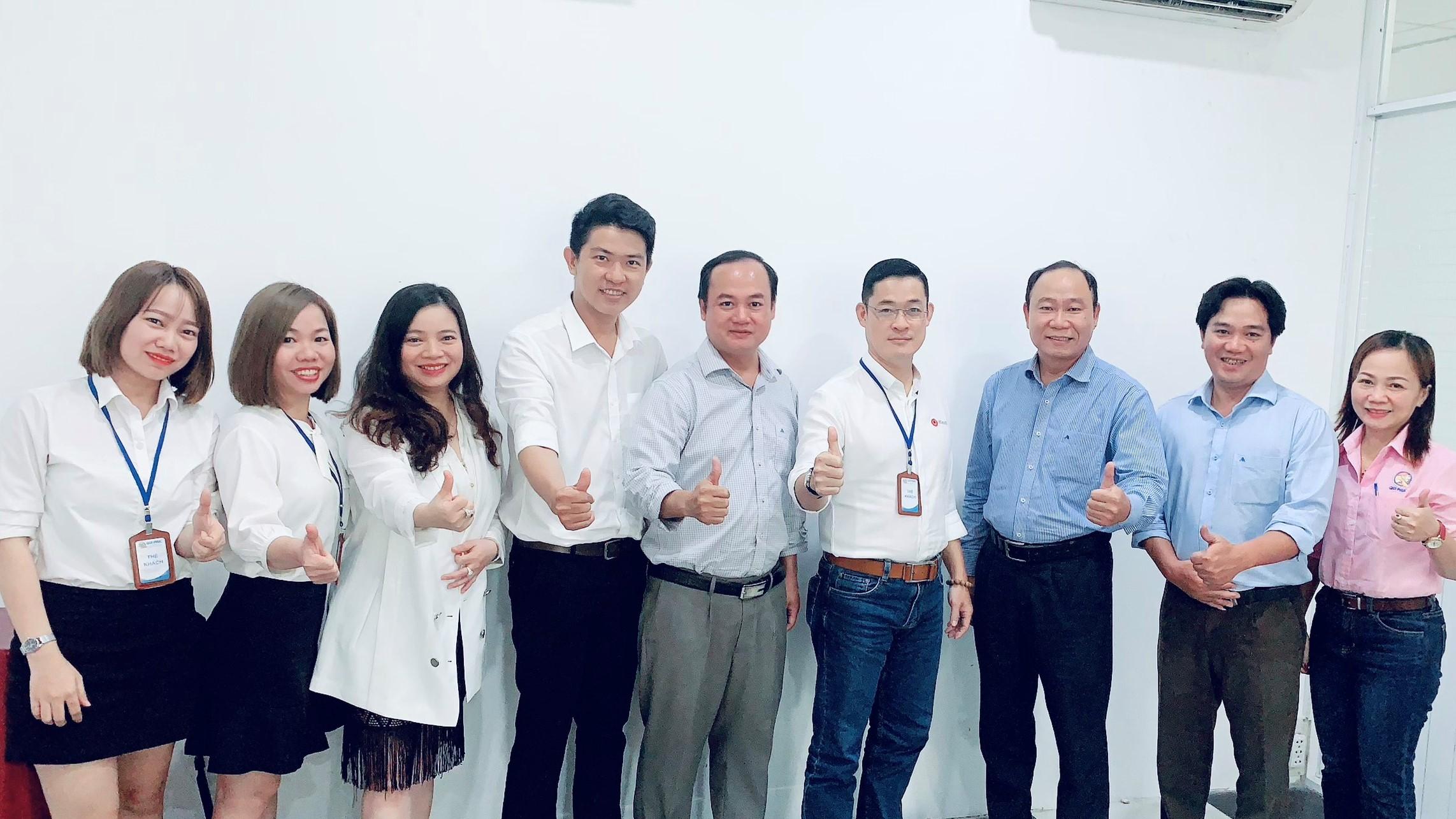 Kick off Qui Phuc DMS Project